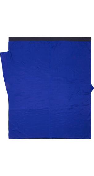 Cocoon TravelSheet Slaapzak isolatie Doublesize Silk blauw